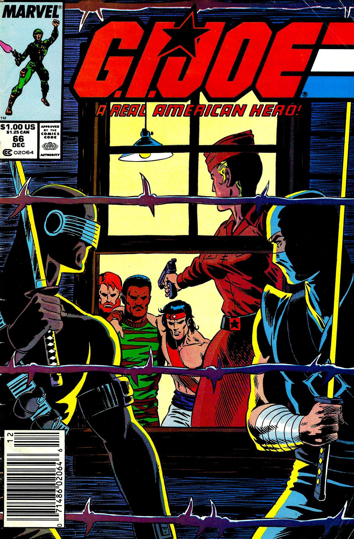 G.I. Joe: A Real American Hero 66 Page 1