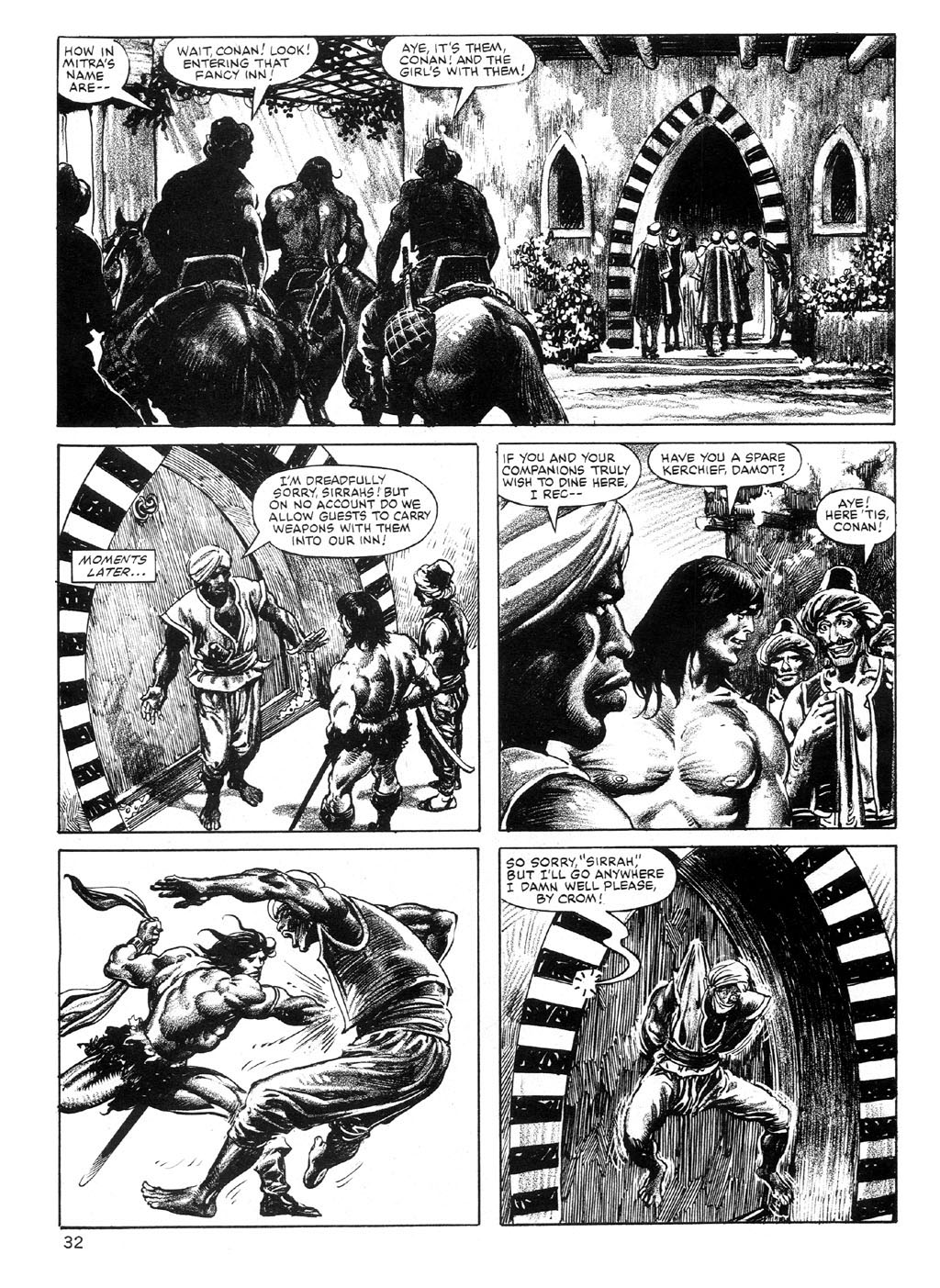 The Savage Sword Of Conan Issue #89 #90 - English 32