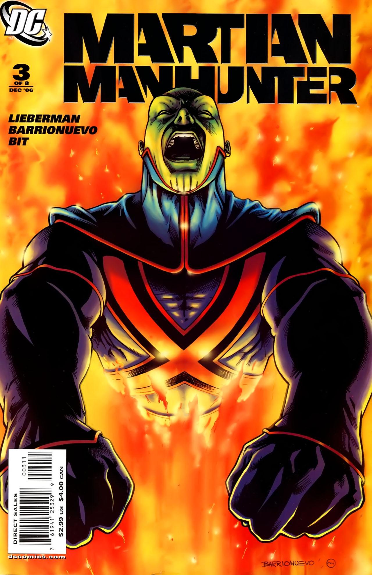 Read online Martian Manhunter (2006) comic -  Issue #3 - 1