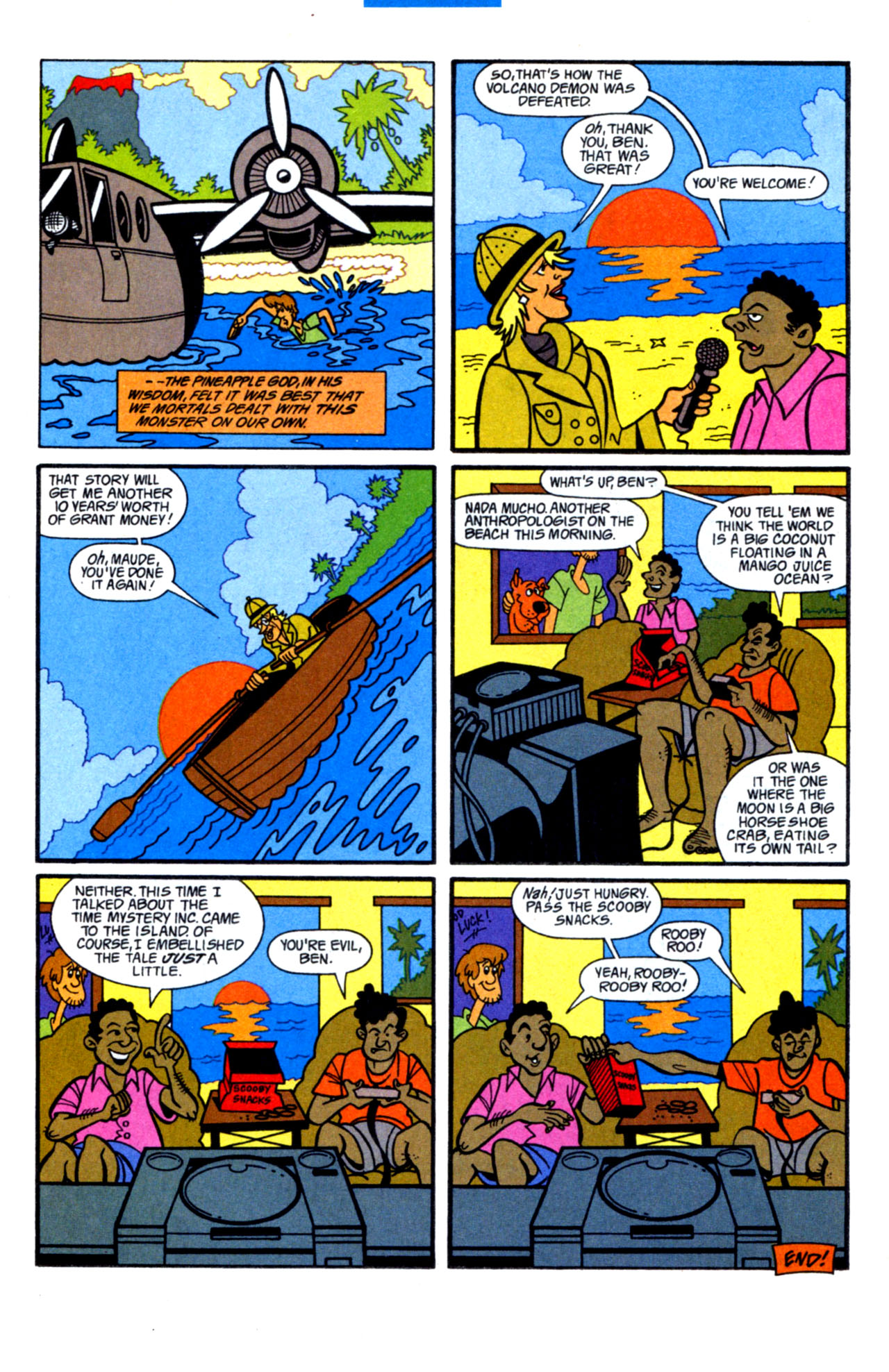 Read online Scooby-Doo (1997) comic -  Issue #15 - 32
