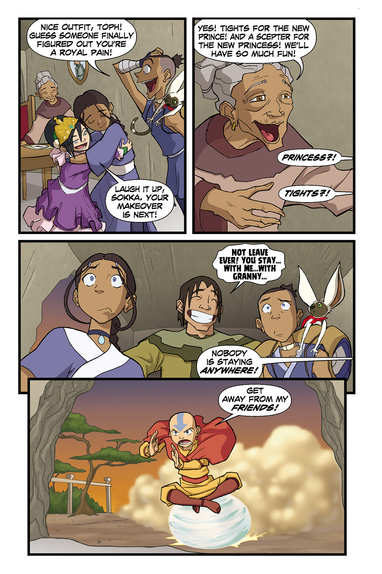 Nickelodeon Avatar: The Last Airbender - The Lost Adventures chap full pic 75