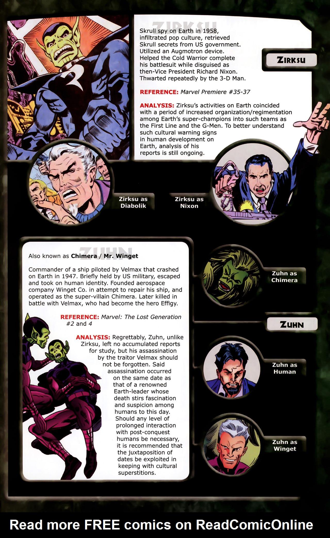 Read online Skrulls! comic -  Issue # Full - 60