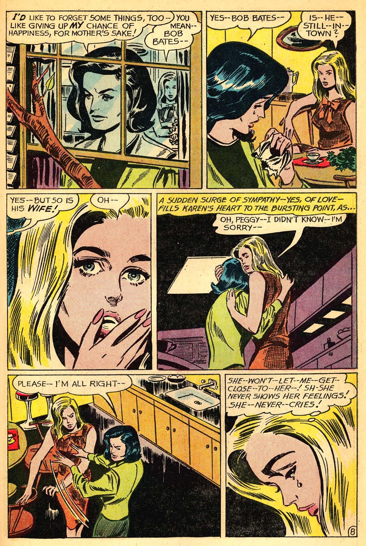 Read online Secret Hearts comic -  Issue #111 - 27