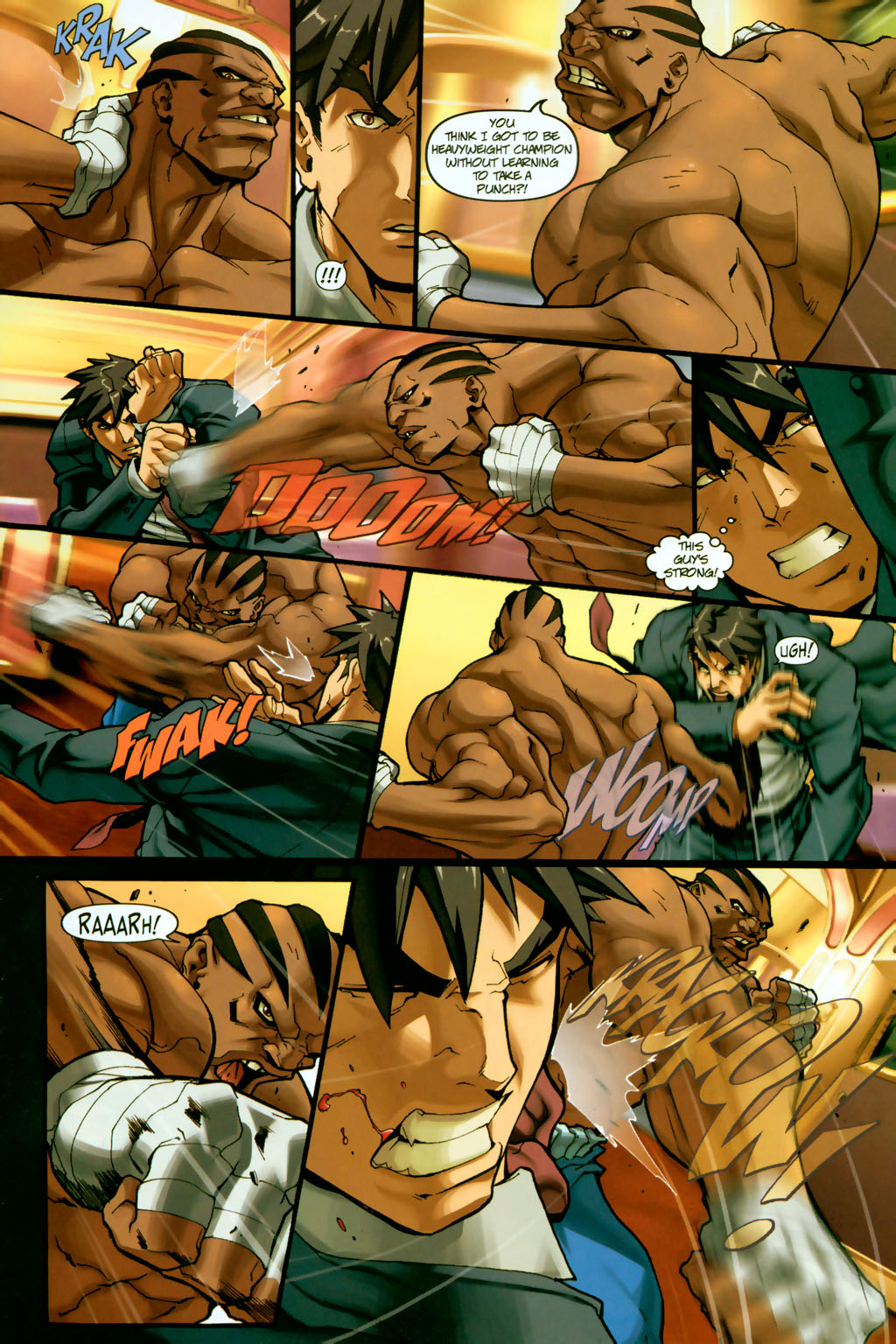 Street Fighter (2003) Issue #14 #15 - English 7