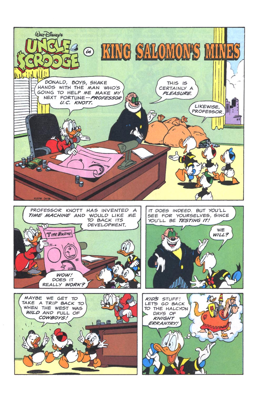 Uncle Scrooge (1953) Issue #250 #250 - English 25