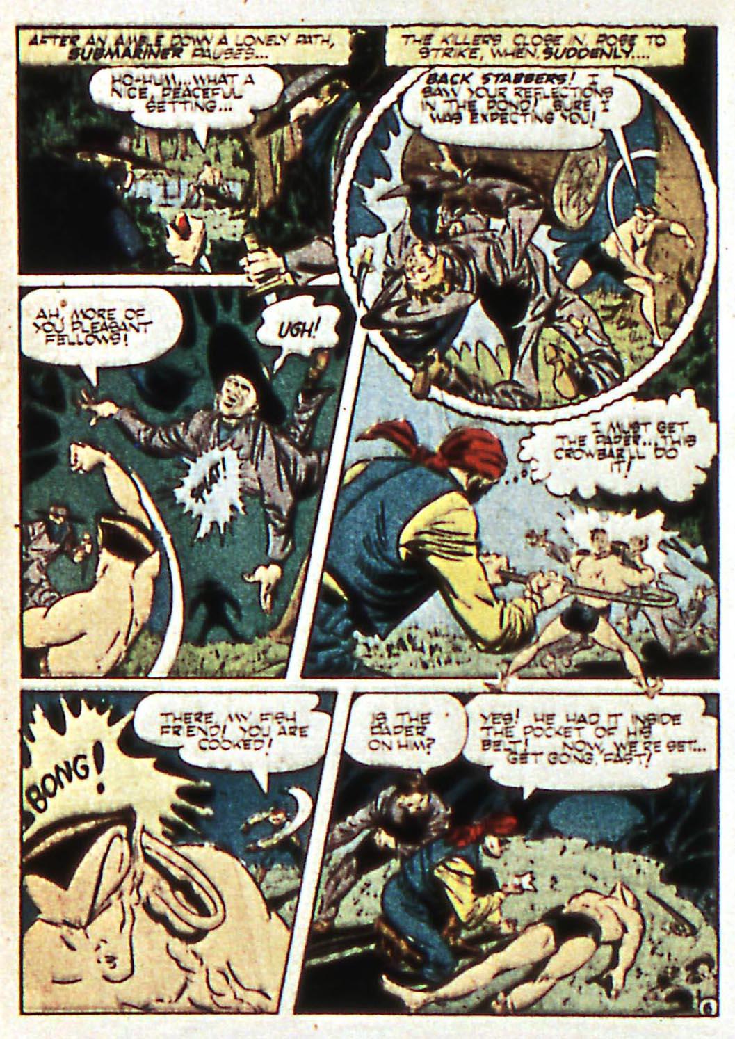 Sub-Mariner Comics Issue #17 #17 - English 20