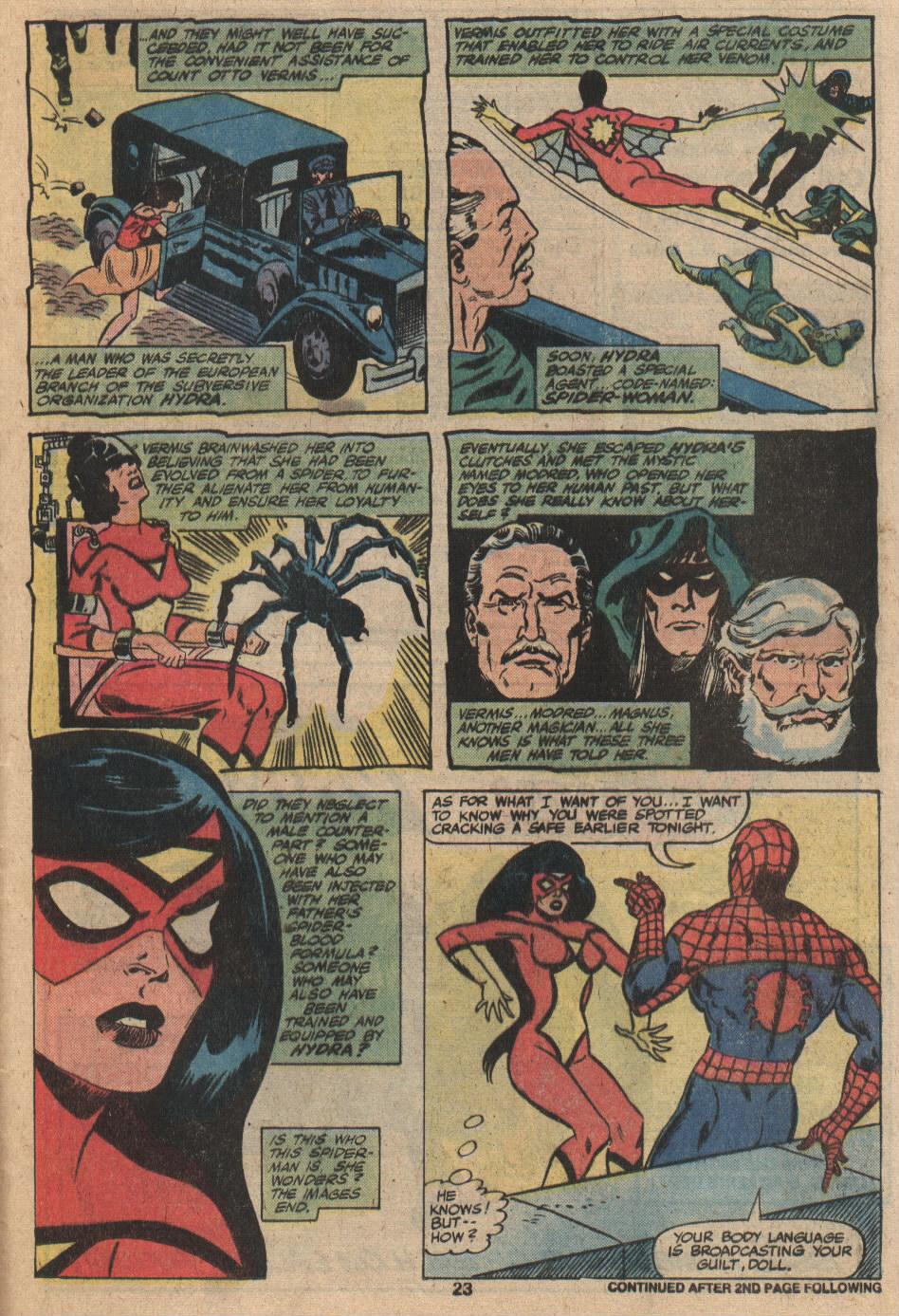 Spider-Woman (1978) #20 #31 - English 15