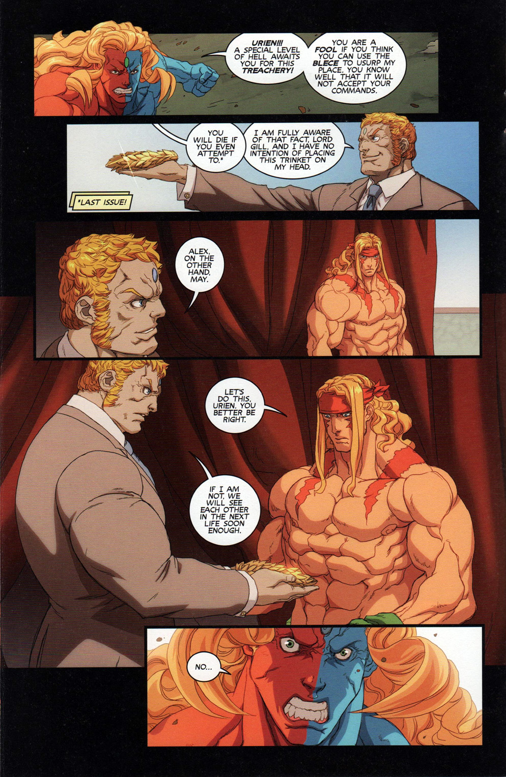Street Fighter Unlimited Issue #10 #12 - English 14