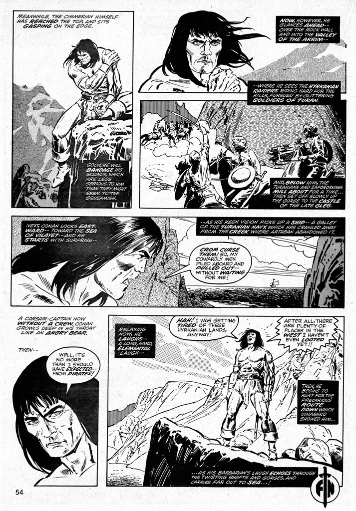 The Savage Sword Of Conan Issue #38 #39 - English 54