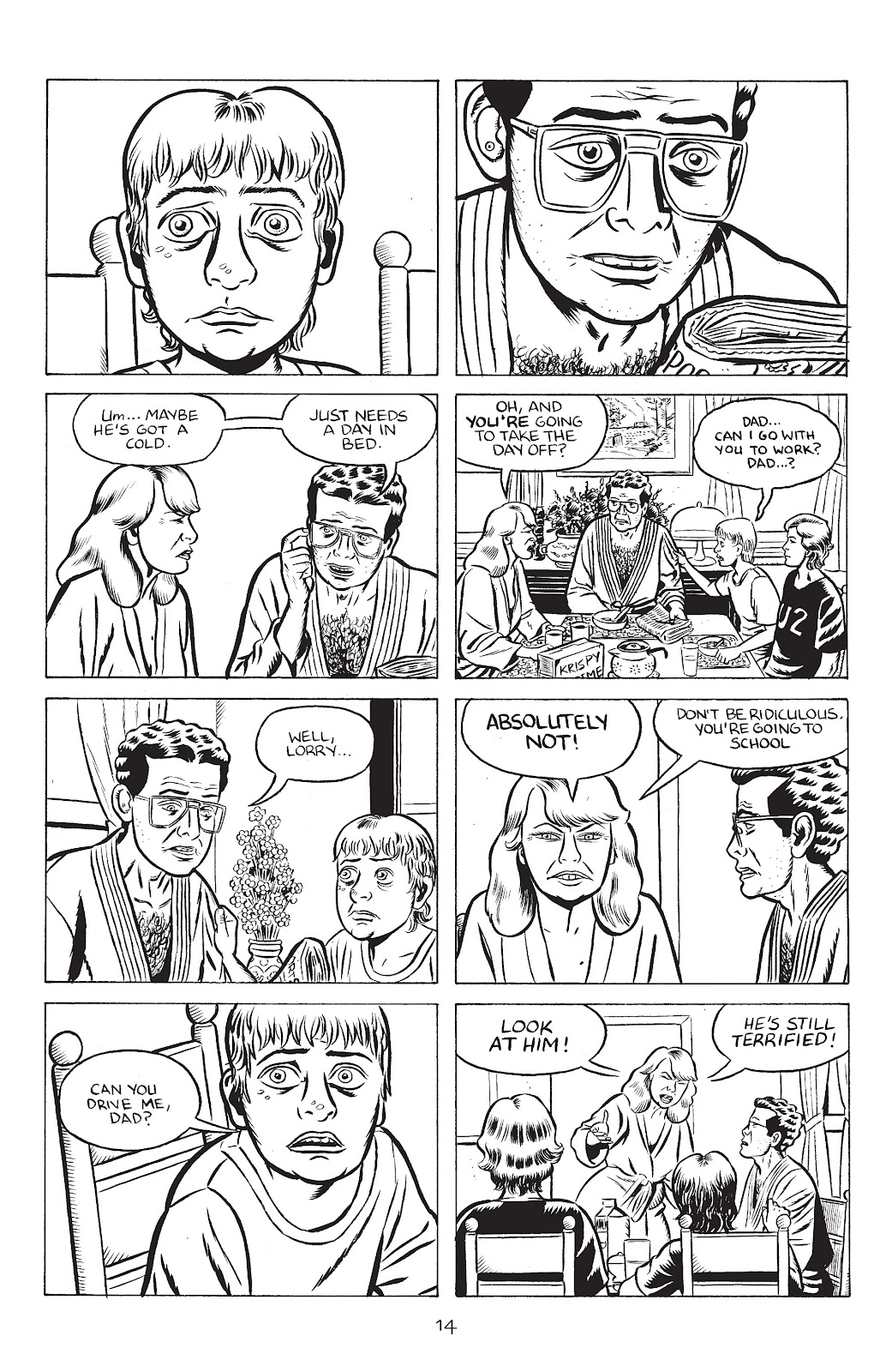 Stray Bullets Issue #32 #32 - English 16