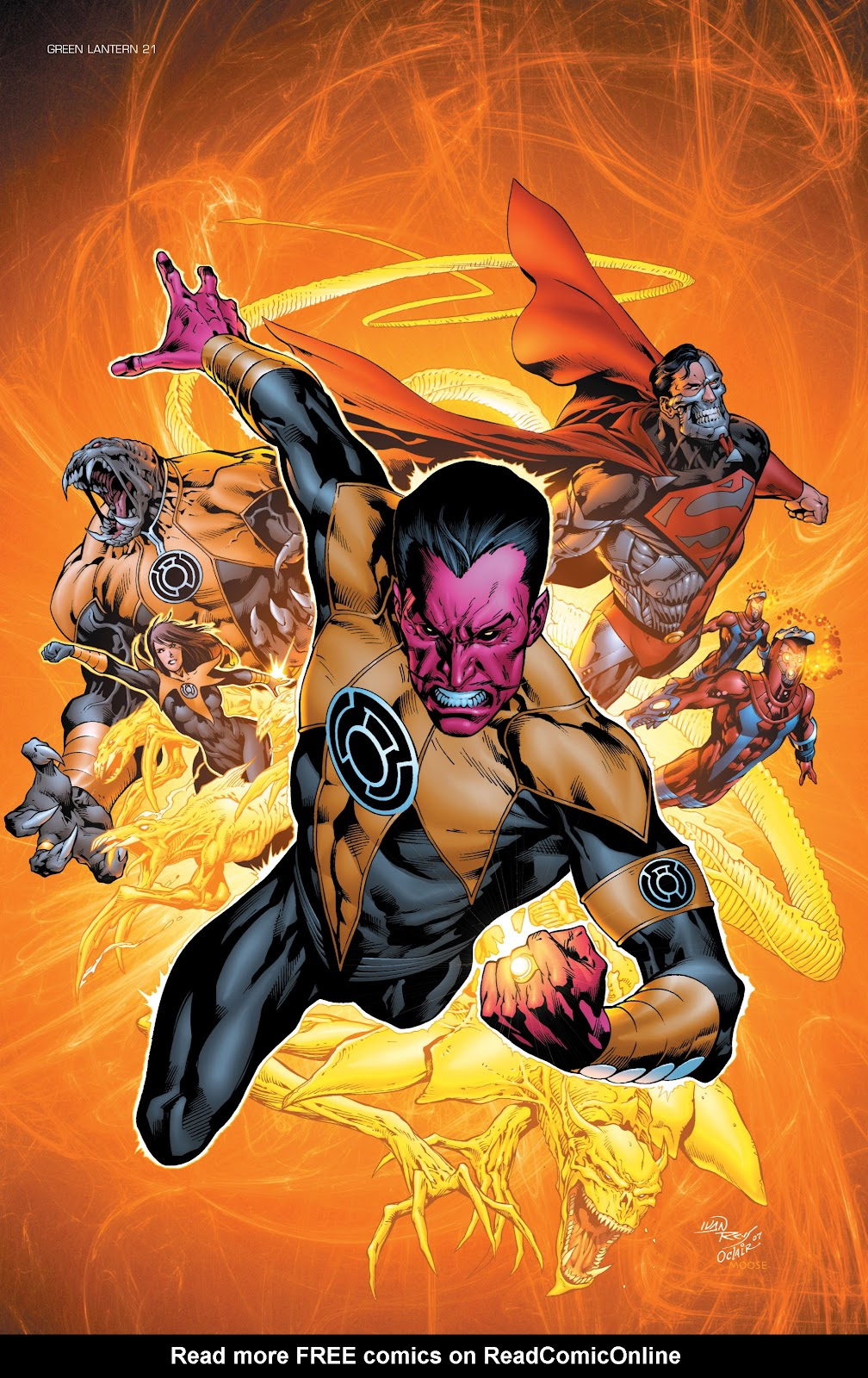 Green Lantern: The Sinestro Corps War Full #1 - English 49