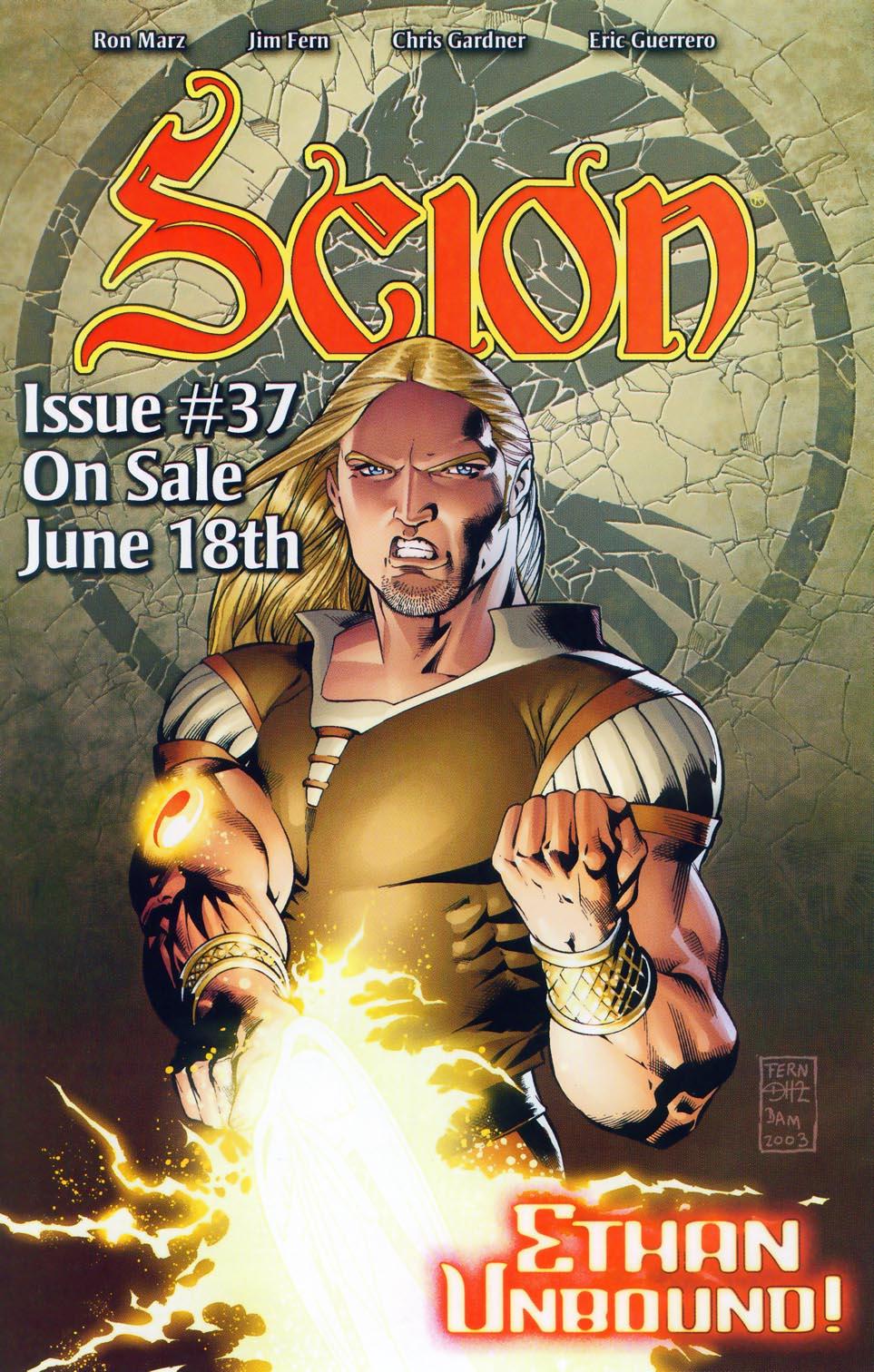 Read online Scion comic -  Issue #36 - 27