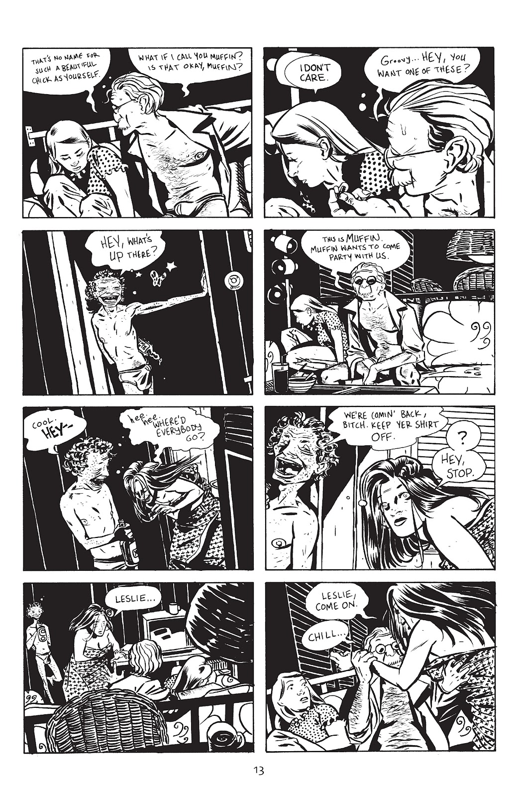 Stray Bullets Issue #13 #13 - English 15