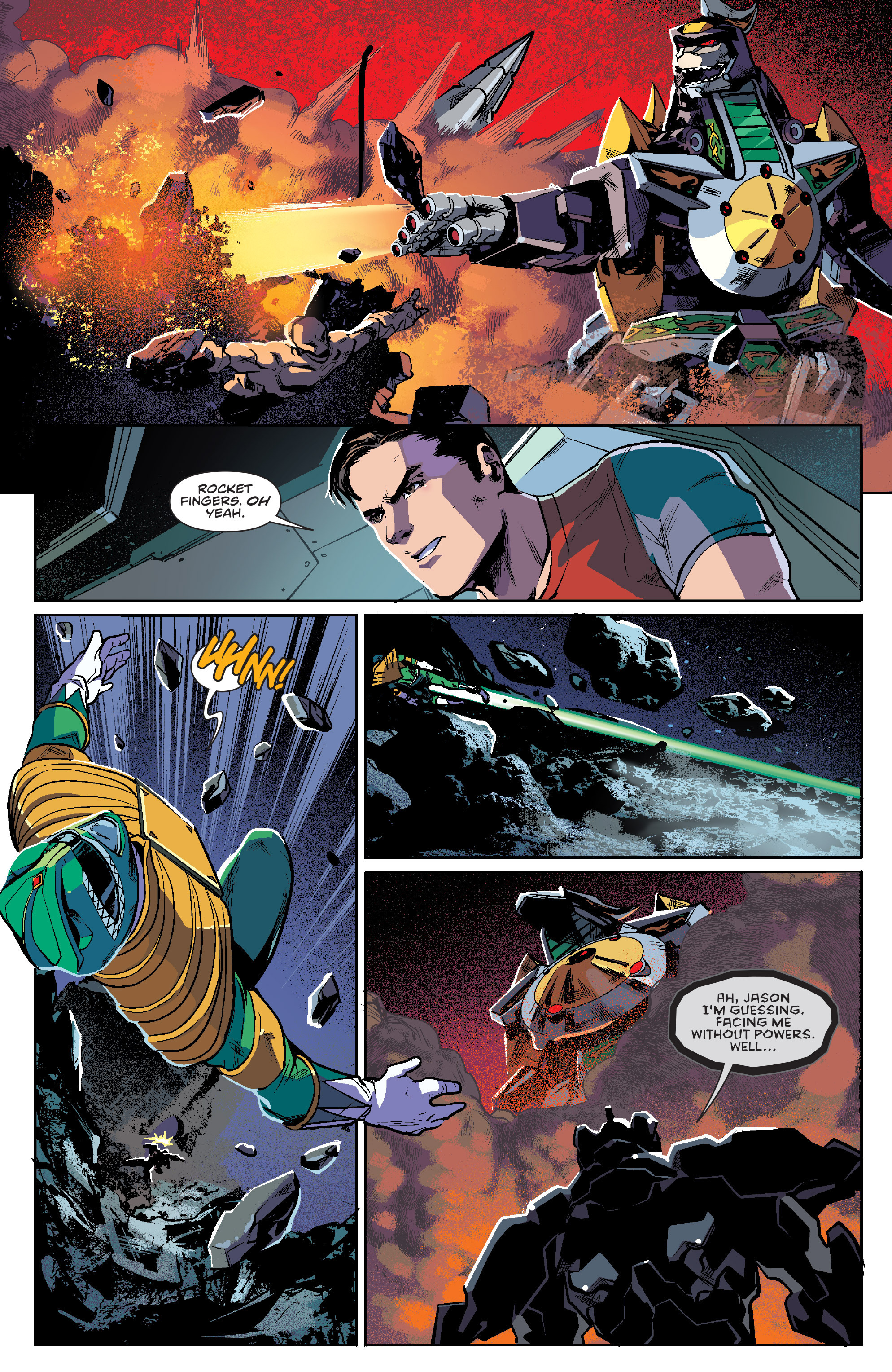 Read online Mighty Morphin Power Rangers comic -  Issue #7 - 19