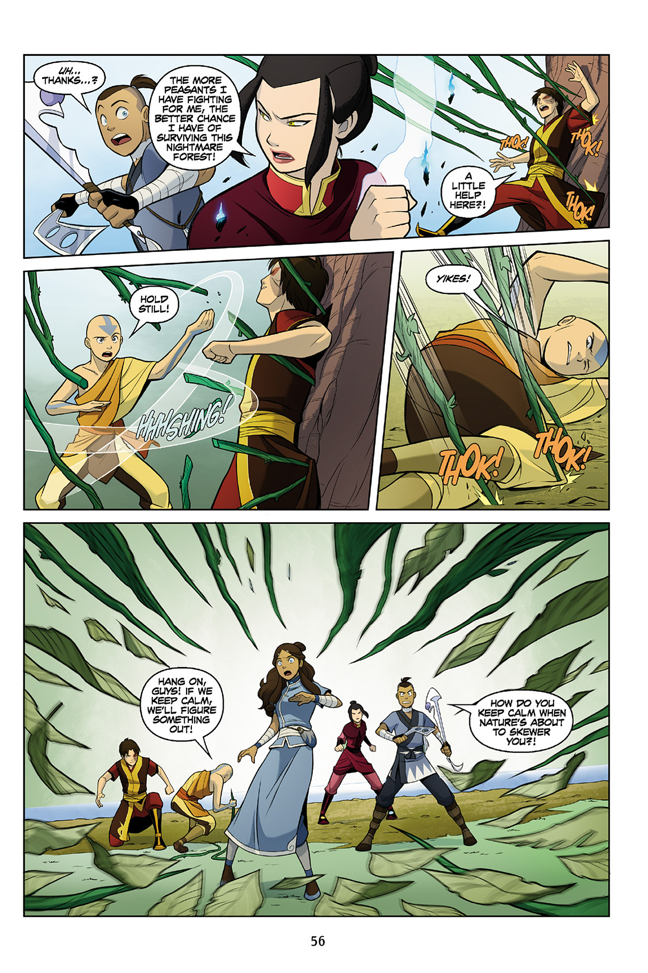 Read online Nickelodeon Avatar: The Last Airbender - The Search comic -  Issue # Part 2 - 57