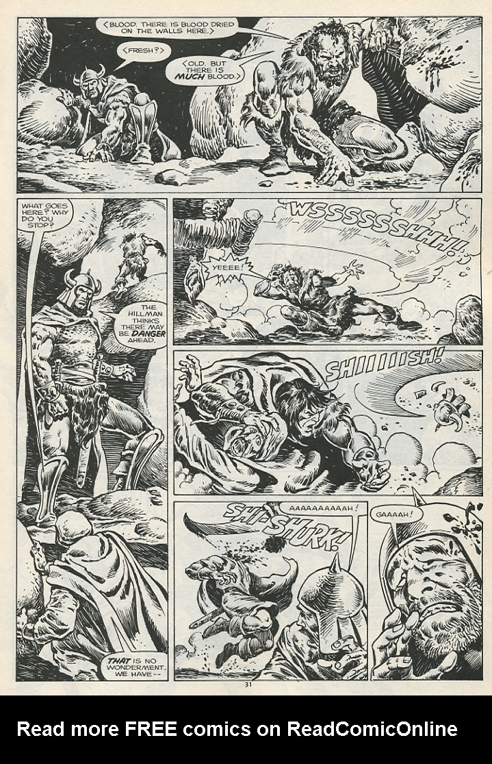 The Savage Sword Of Conan Issue #178 #179 - English 33