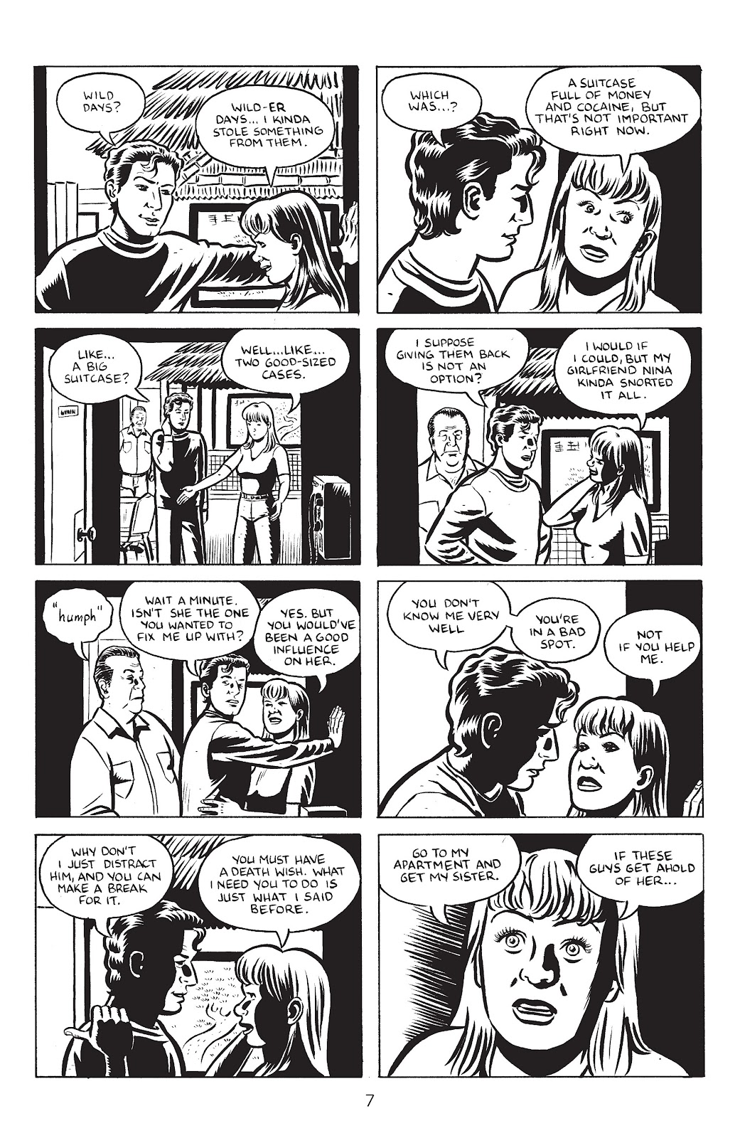 Stray Bullets Issue #24 #24 - English 9