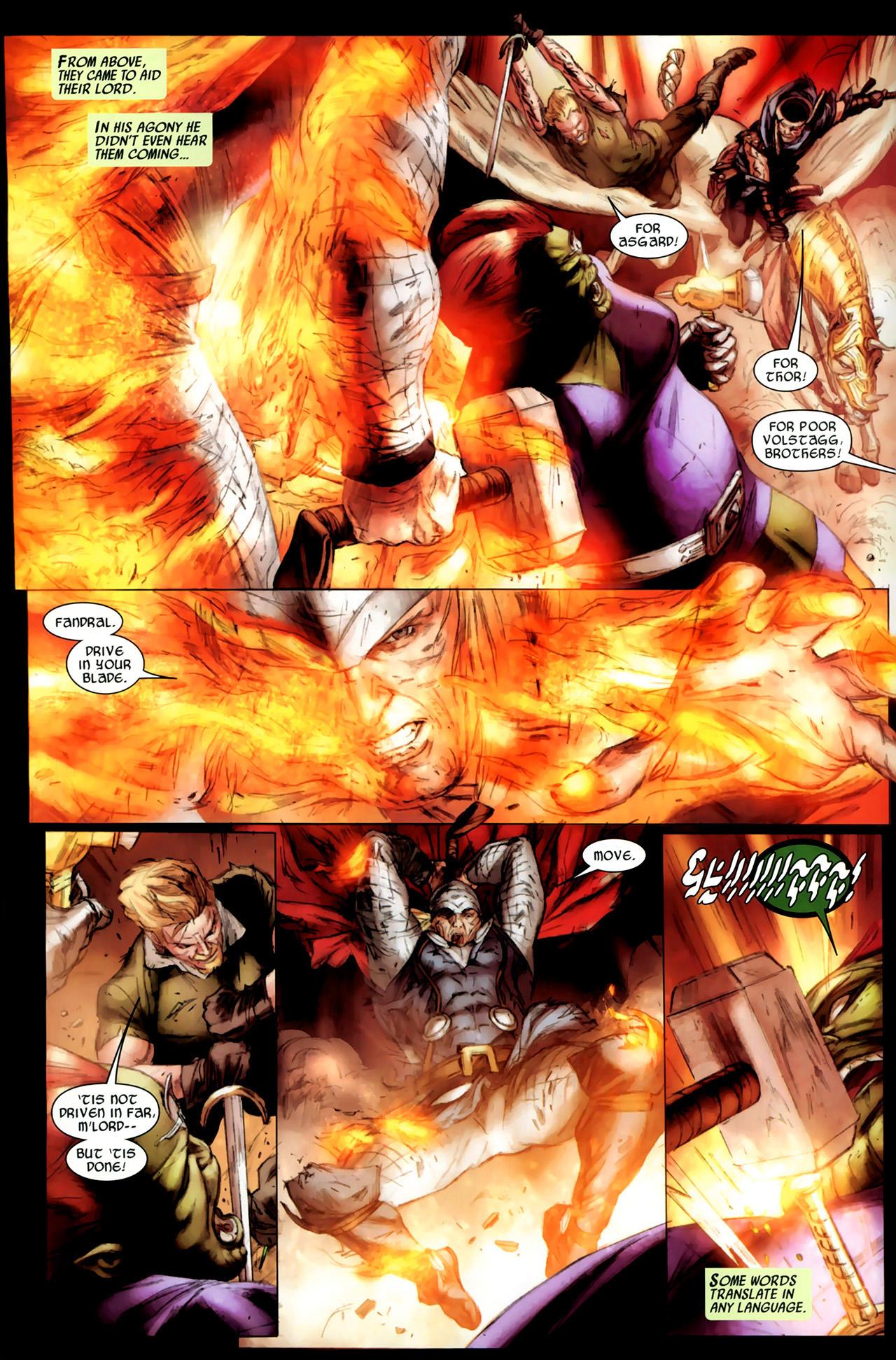 Read online Secret Invasion: Thor comic -  Issue #3 - 10