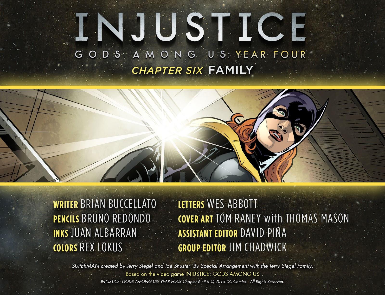 Injustice: Gods Among Us Year Four Issue #6 #7 - English 2