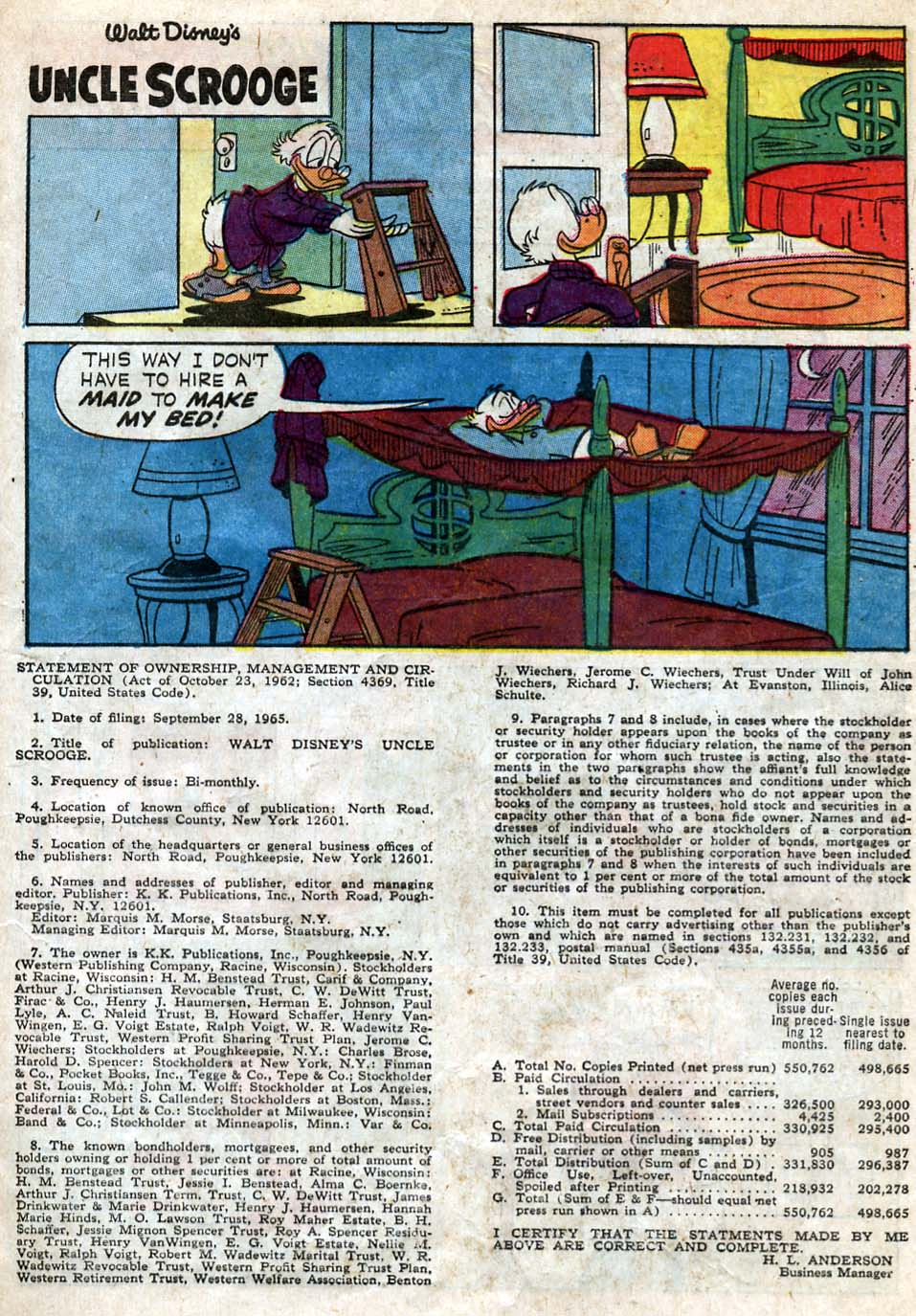 Uncle Scrooge (1953) Issue #62 #62 - English 29