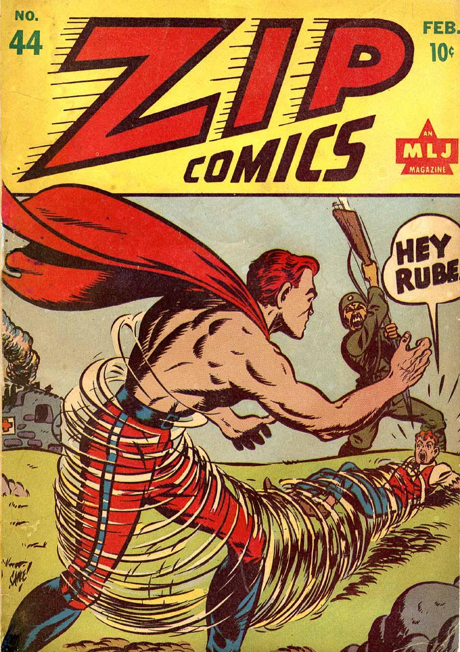 Zip Comics 44 Page 1