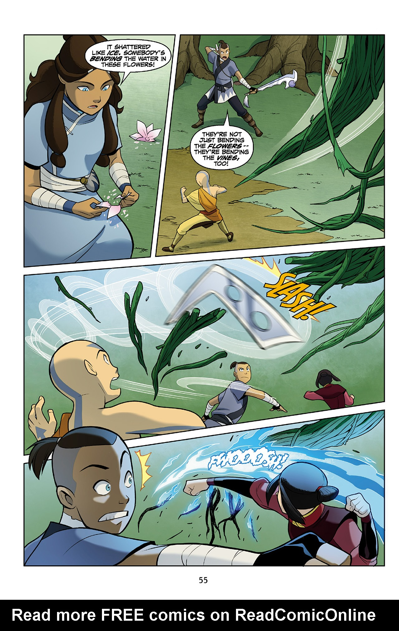 Read online Nickelodeon Avatar: The Last Airbender - The Search comic -  Issue # Part 2 - 56