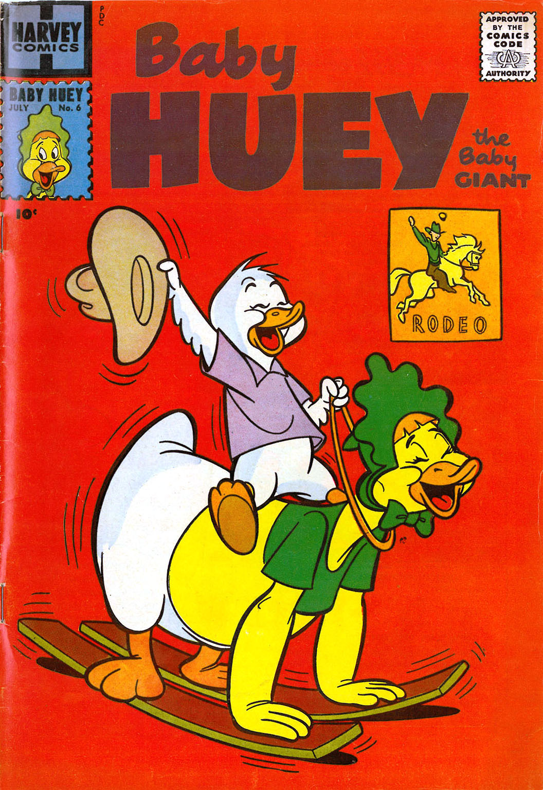 Baby Huey, the Baby Giant 6 Page 1
