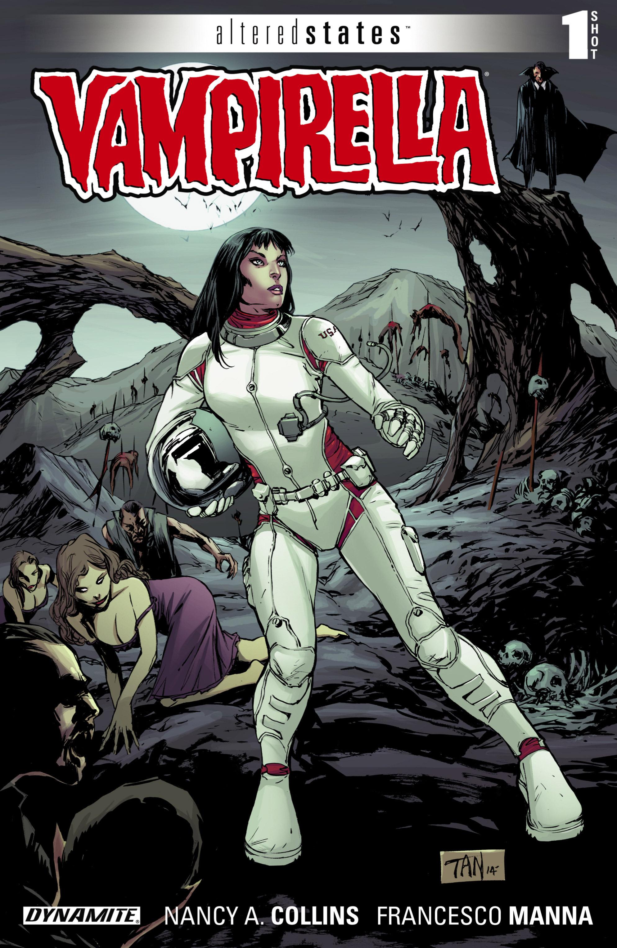 Altered States: Vampirella Full Page 1
