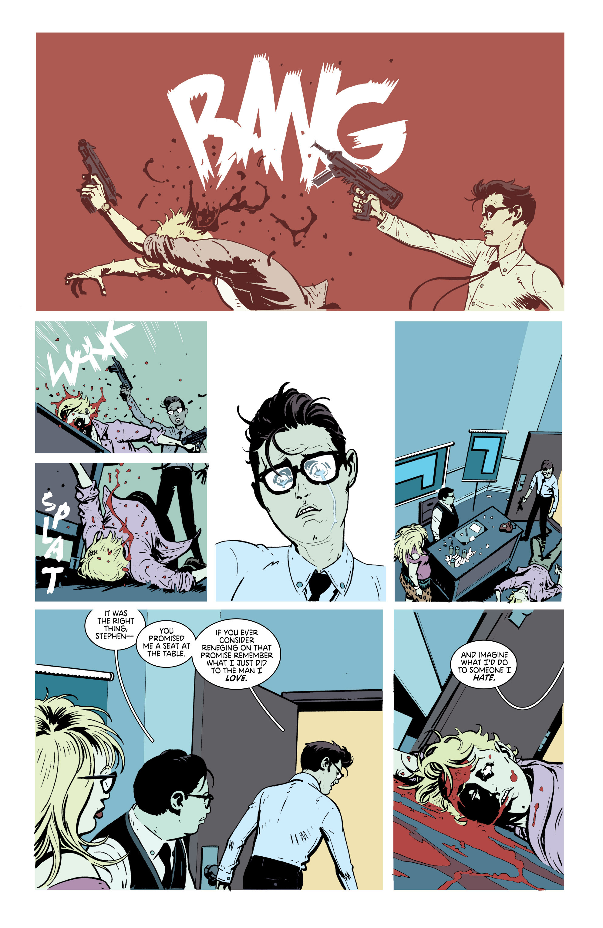 Read online Deadly Class comic -  Issue #21 - 14
