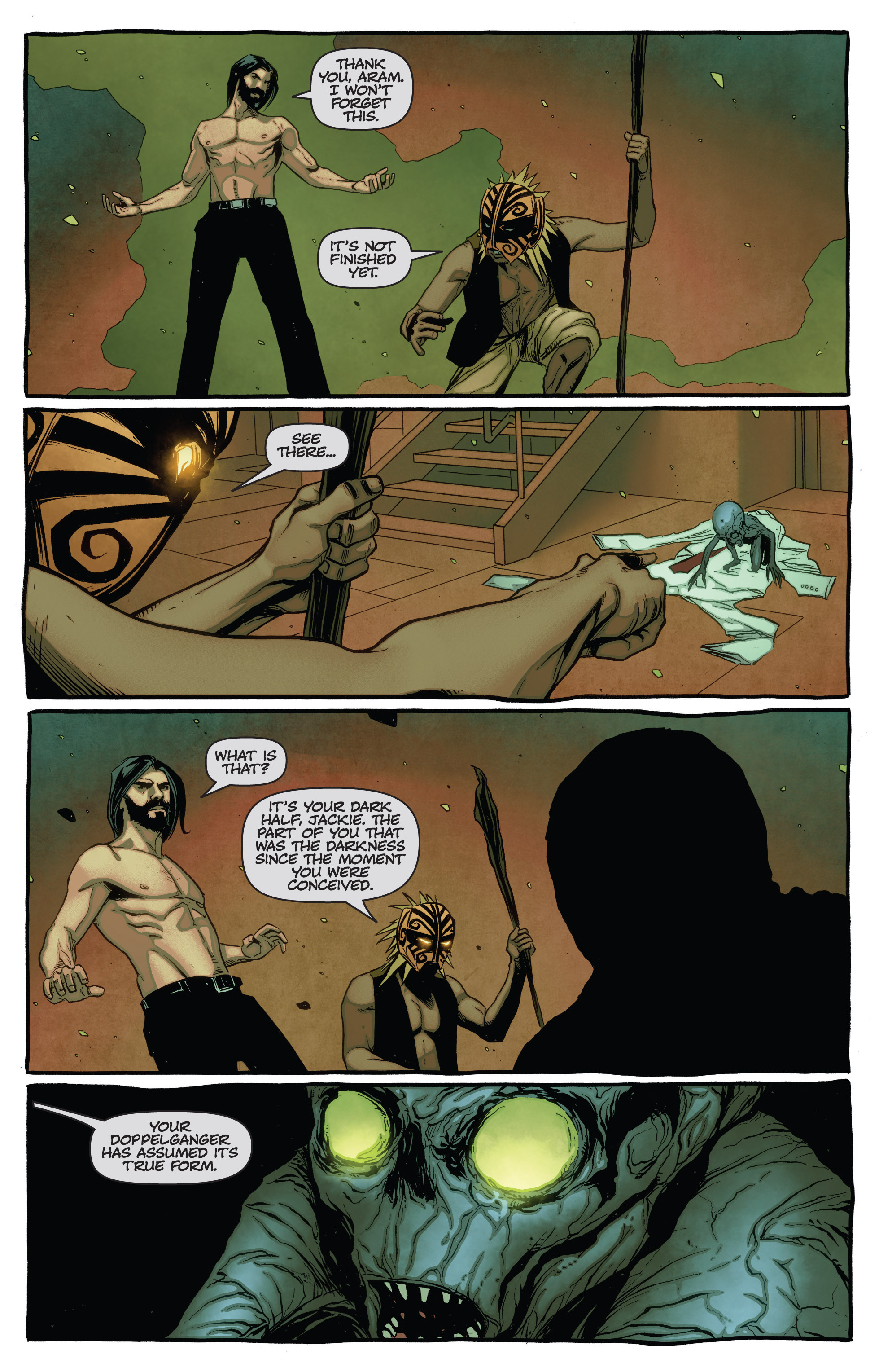 Read online The Darkness (2007) comic -  Issue #115 - 15