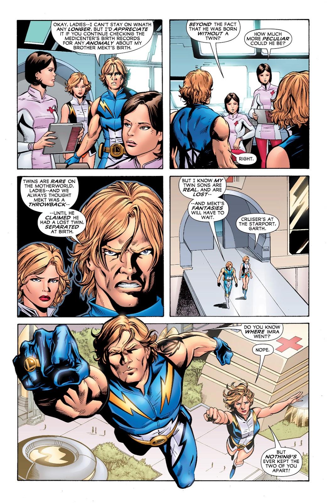 Legion of Super-Heroes (2010) Issue #2 #3 - English 21