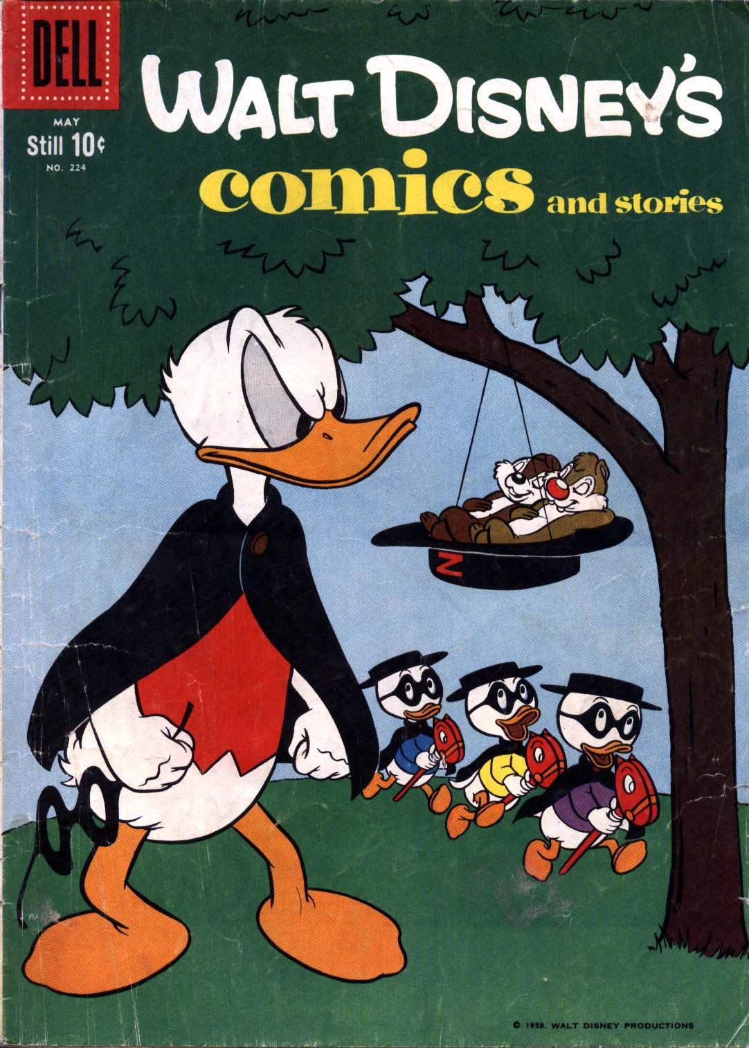 Walt Disneys Comics and Stories 224 Page 1