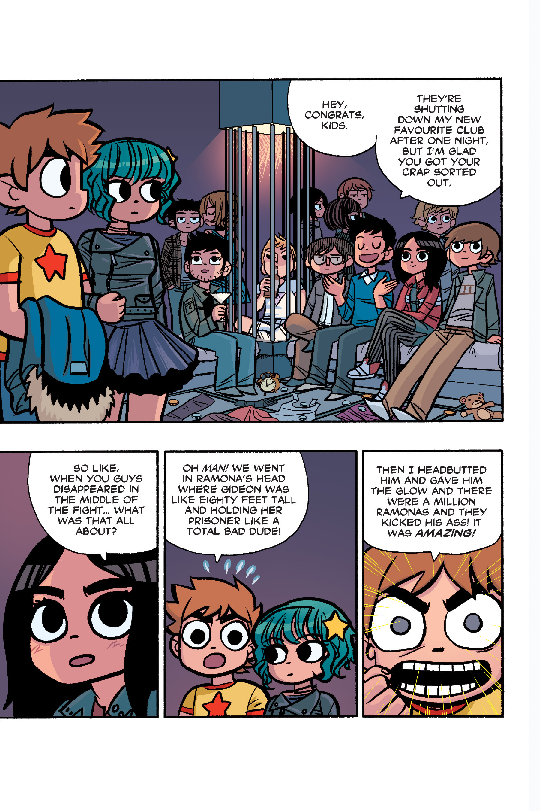 Read online Scott Pilgrim comic -  Issue #6 - 218