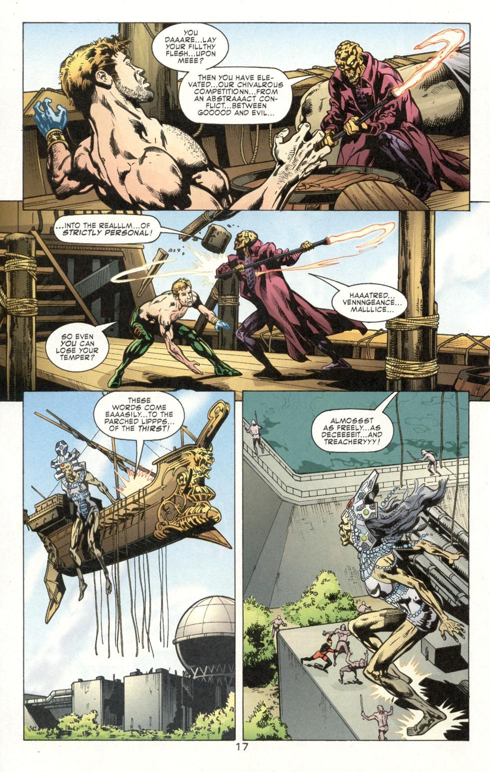 Aquaman (2003) Issue #7 #7 - English 19