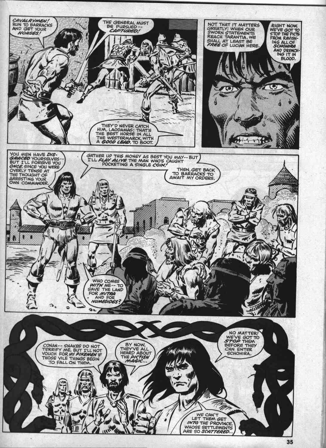 The Savage Sword Of Conan Issue #46 #47 - English 34