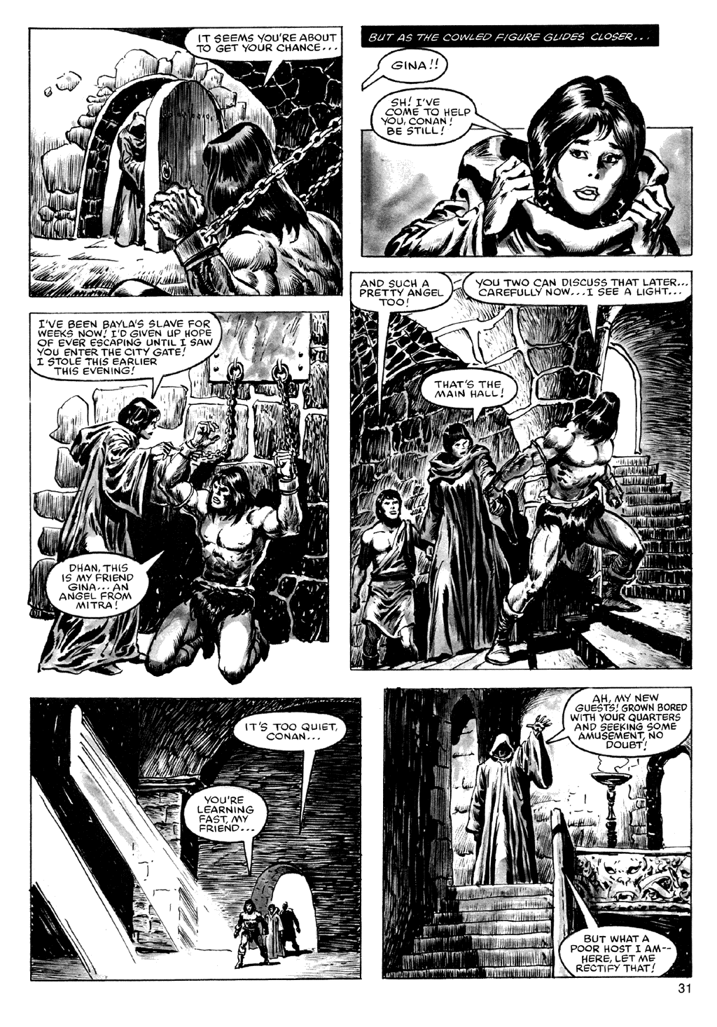 Of Conan  #164 - English 31