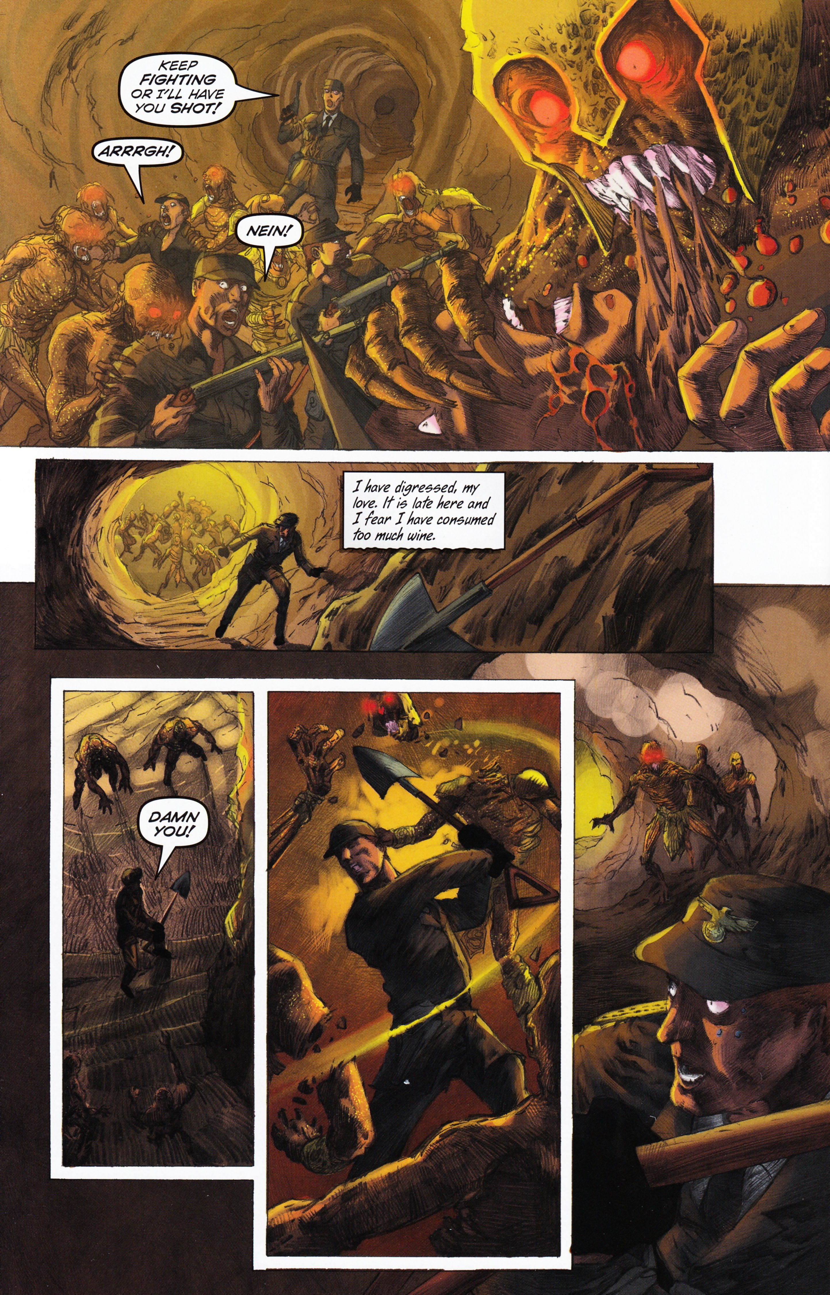 Read online Evil Dead 2: Tales of the Ex-Mortis comic -  Issue #3 - 36