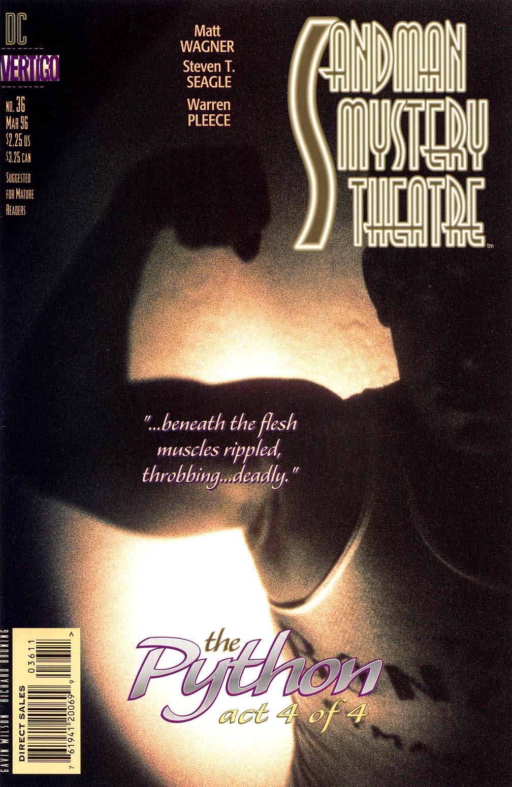 Sandman Mystery Theatre 36 Page 1