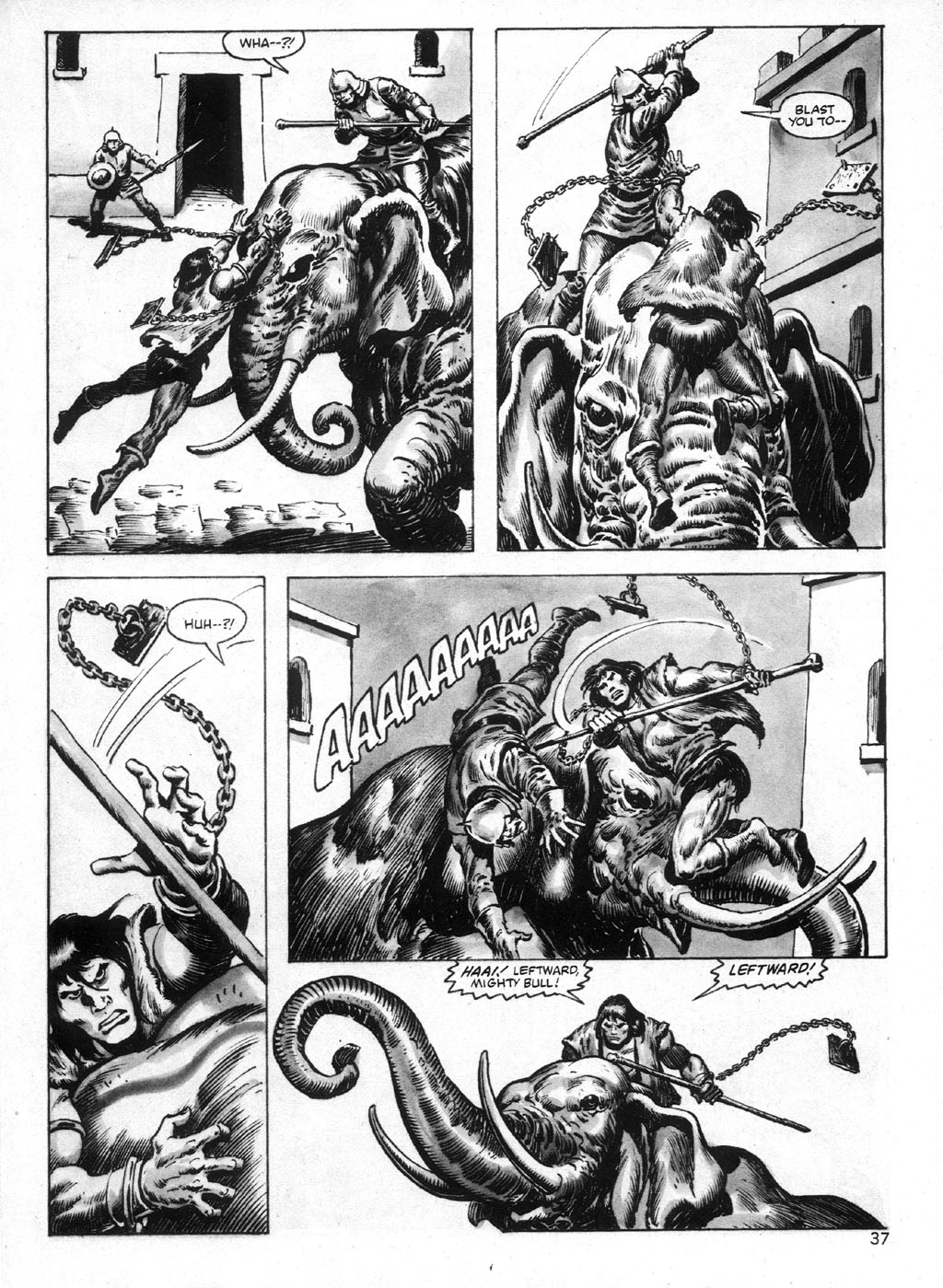 The Savage Sword Of Conan Issue #95 #96 - English 37