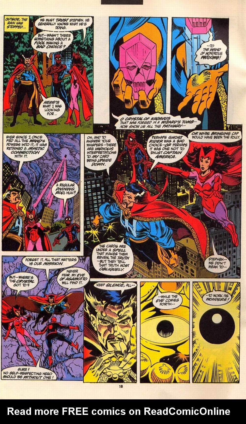 Read online Secret Defenders comic -  Issue #6 - 15