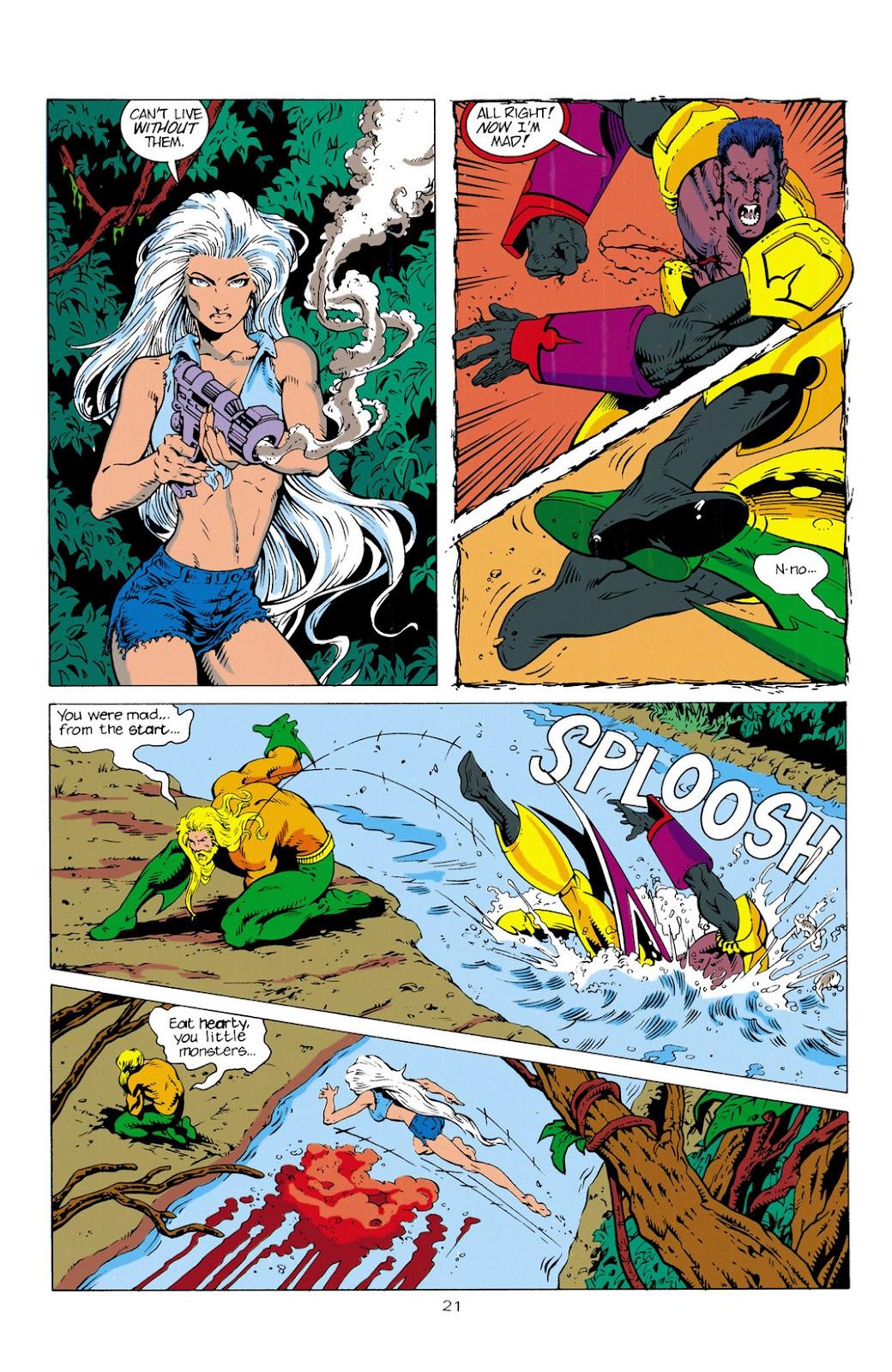 Aquaman (1994) Issue #2 #8 - English 22
