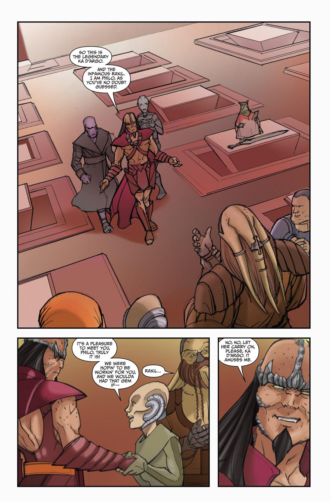 Read online Farscape: D'Argo's Quest comic -  Issue #4 - 13