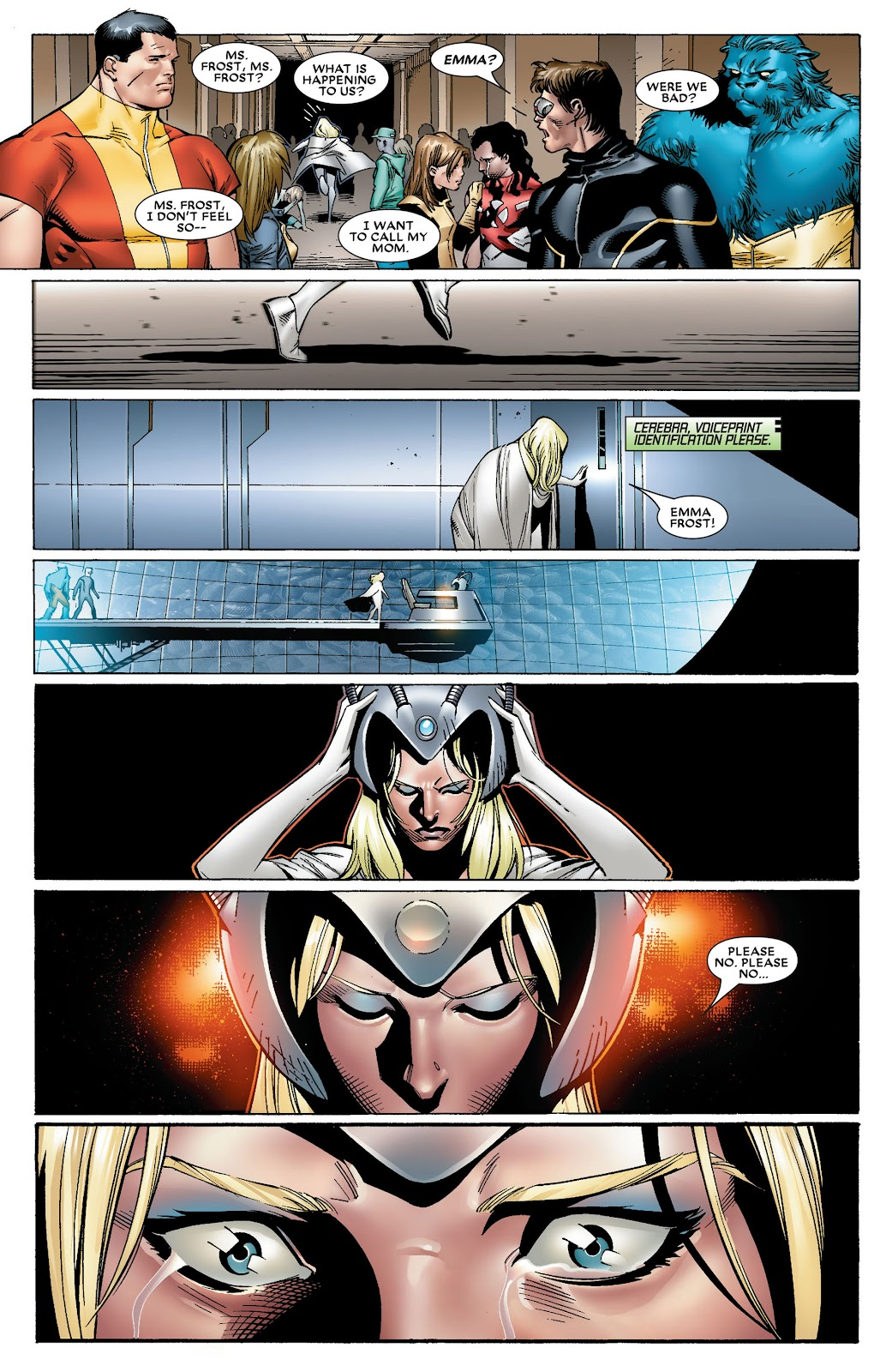 House of M (2005) Issue #8 #8 - English 12