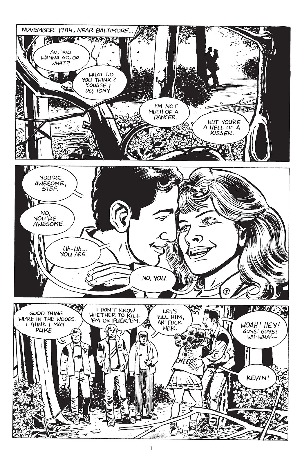 Stray Bullets Issue #35 #35 - English 3
