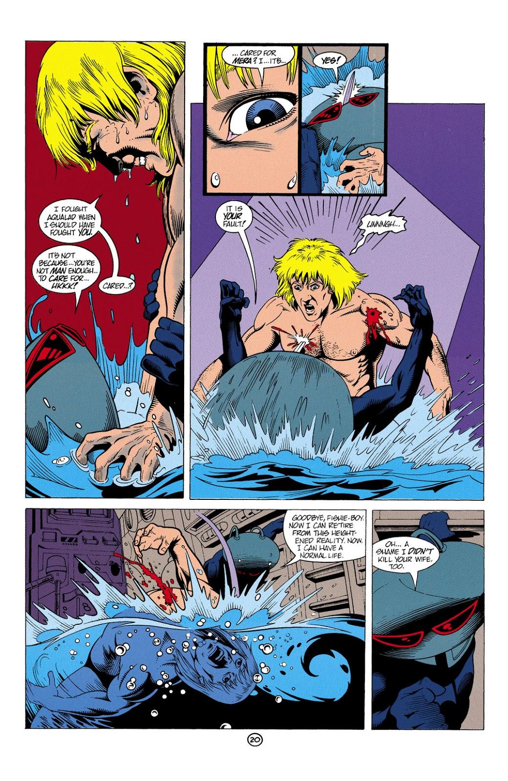 Aquaman (1991) Issue #6 #6 - English 21