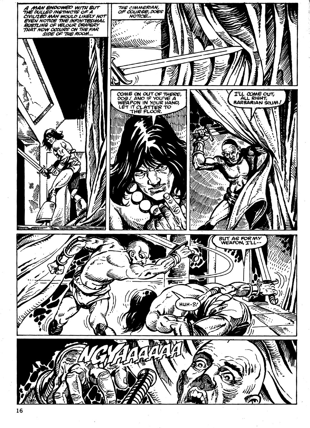 The Savage Sword Of Conan Issue #86 #87 - English 16