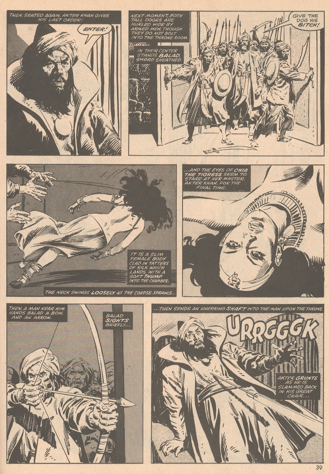 The Savage Sword Of Conan Issue #58 #59 - English 40