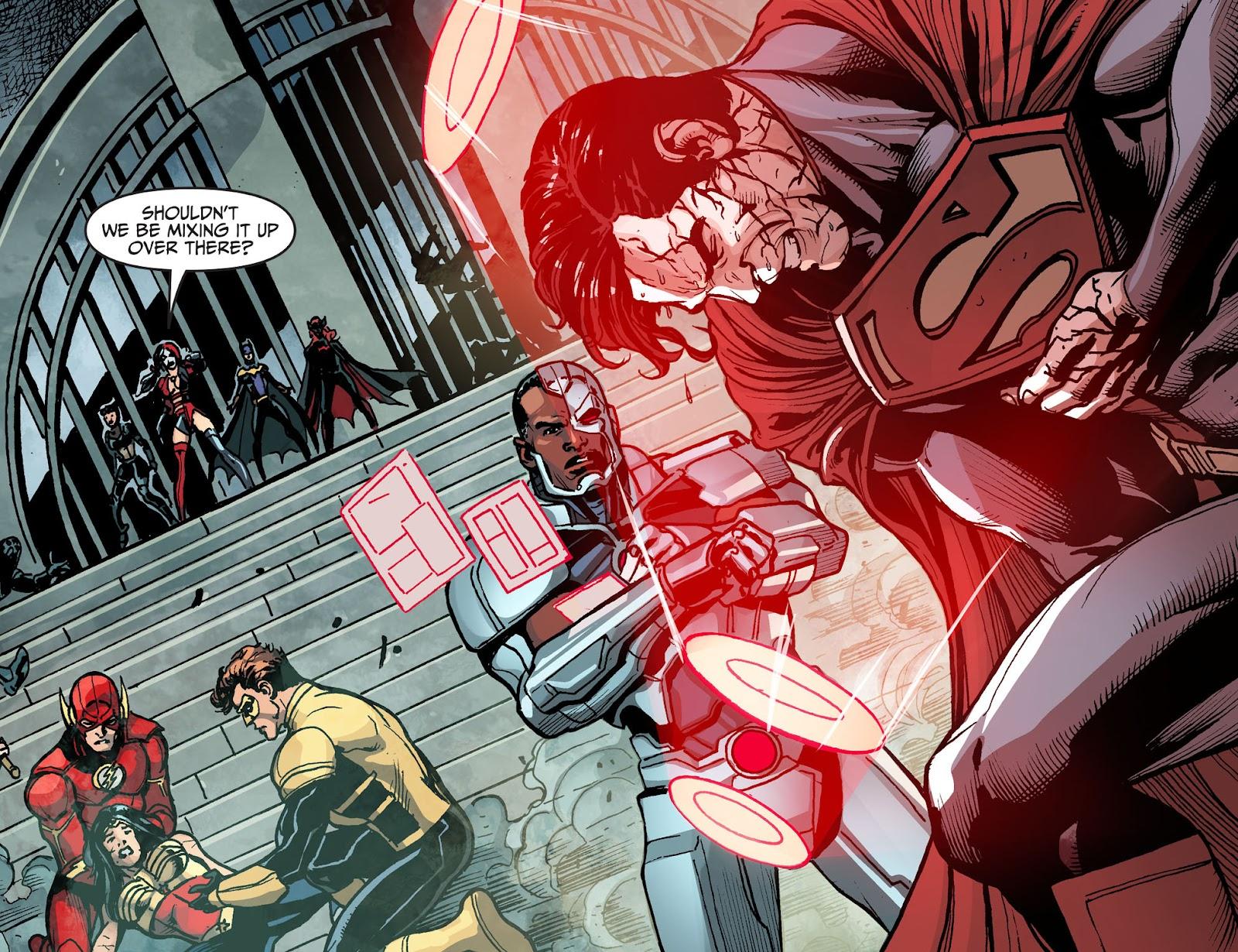 Injustice: Gods Among Us Year Four Issue #14 #15 - English 16