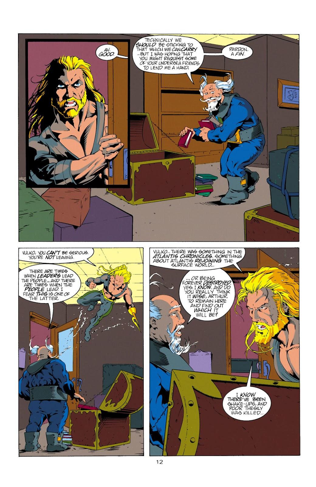 Aquaman (1994) Issue #11 #17 - English 12