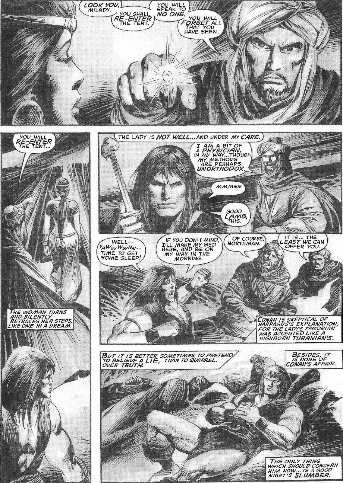 The Savage Sword Of Conan Issue #207 #208 - English 19